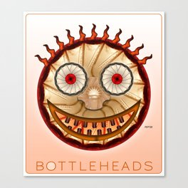 Bottlehead #10 Canvas Print