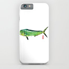 Dorado or Mahi Mahi, the Raging Bull iPhone Case