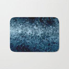 Blue Cristals Bath Mat