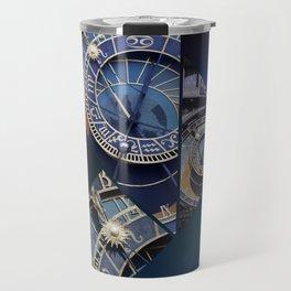 Prague Astronomical Clock Travel Mug
