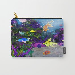 Beautiful Coral Reef Carry-All Pouch