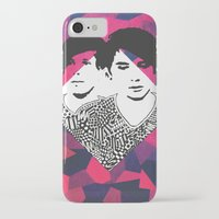 danisnotonfire iPhone & iPod Cases featuring Danisnotonfire & AmazingPhil   by xzwillingex