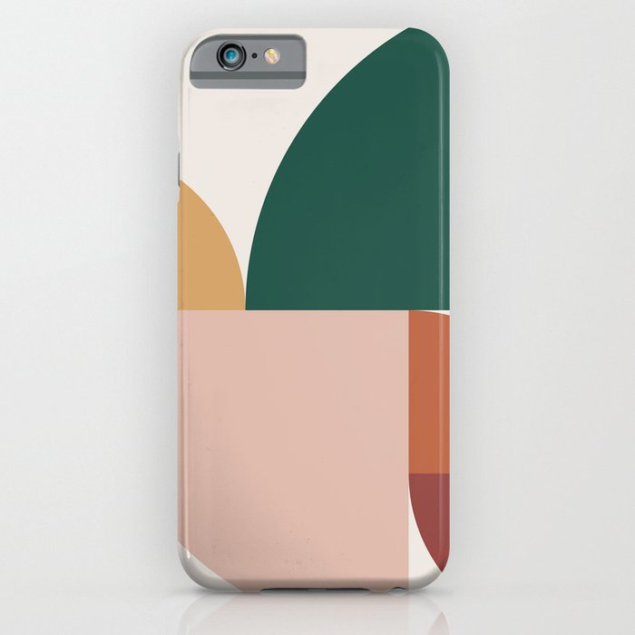 abstract geometric 11 iphone case
