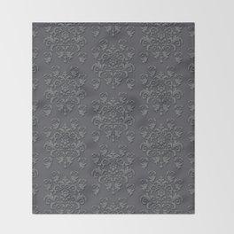Victorian Pattern 4 Throw Blanket