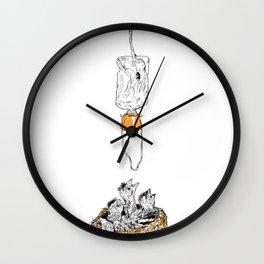 birdbreath Wall Clock