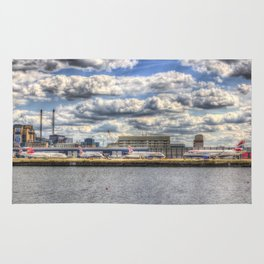 London city Airport Rug