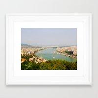 budapest Framed Art Prints featuring Budapest by Robert McHugh