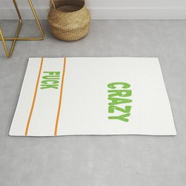 Awesome & Trendy Tshirt Designs PEOPLE SAY I'M CRAZY Rug