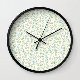 Floral Spring Print Wall Clock