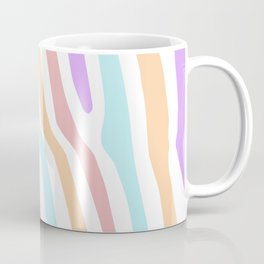 Pastel Colored Stripes  Coffee Mug