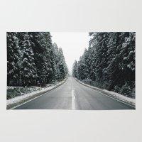 onward Area & Throw Rugs featuring Onward by danotis