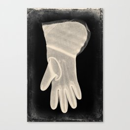 X-Ray of Vintage Glove Canvas Print