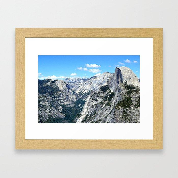 Half Dome View Framed Art Print