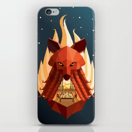 The Sly Counselor iPhone Skin