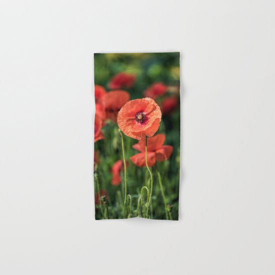 Poppy what else? Hand & Bath Towel