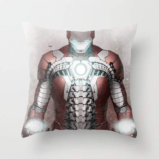 Mark V Throw Pillow