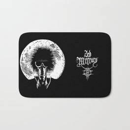 Zed Mercury: Psychopomp - Full Moon Bath Mat