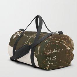 Chat Blanc Duffle Bag