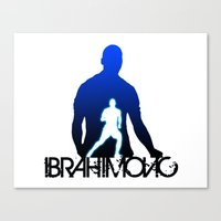 zlatan Canvas Prints featuring Zlatan Ibrahimovic by Sport_Designs