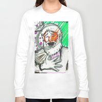 sketch Long Sleeve T-shirts featuring Sketch by Alec Goss