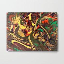 Abstract 00003 Metal Print
