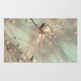 dandelion mint Rug