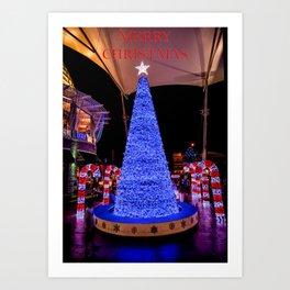 Merry Christmas Art Print