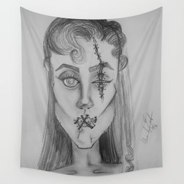 Silenced... Wall Tapestry