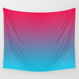 Pink and Sky-Blue Gradient 009 Wall Tapestry