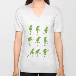 Ministry of Silly Muppet Walks Unisex V-Neck