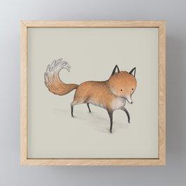 Little Fox Framed Mini Art Print
