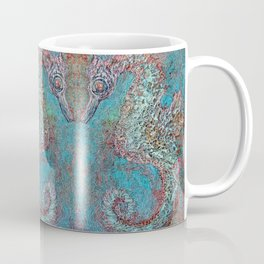 Seahorse in Glass Cradle Coffee Mug