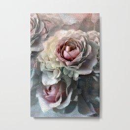 Vintage roses(7). Metal Print