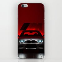 bmw iPhone & iPod Skins featuring BMW M3 by Vasco Estrelado - Photographer