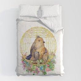 Birds in Cage Comforters