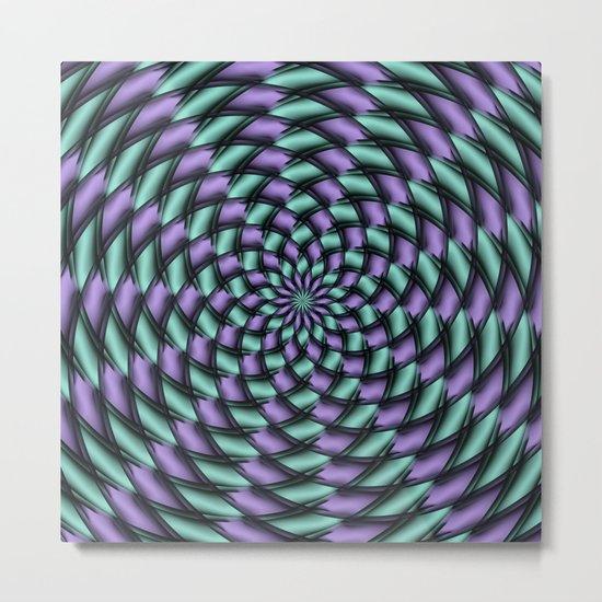 Tessellation 3 Metal Print