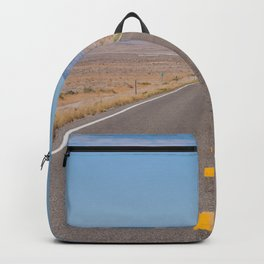 Open Road Photography, Loneliest Highway in America Photo, Nevada Road, Travel Photography Backpack