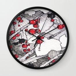 Currants Wall Clock