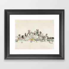 pittsburgh pennsylvania  Framed Art Print