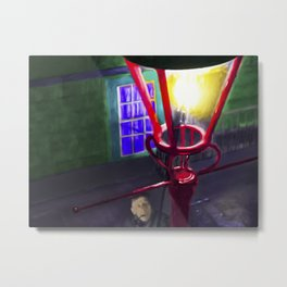 Let There Be Gaslight Metal Print