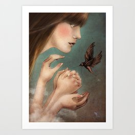 The Secret  Art Print