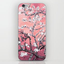 Van Gogh Almond Blossoms : Peachy Pink iPhone Skin