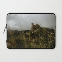 Foggy Mountaintop at Lost Mine Trail, Big Bend Laptop Sleeve