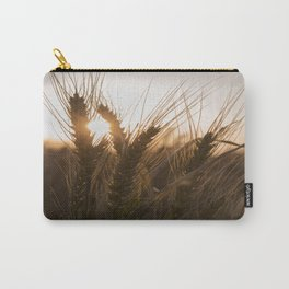 Wheat Holding the Sunset Carry-All Pouch