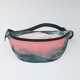 upside down town Fanny Pack
