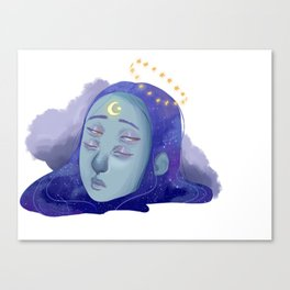 Galactic Awakenings Canvas Print