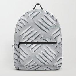 TREADPLATE. Textured aluminum. Backpack