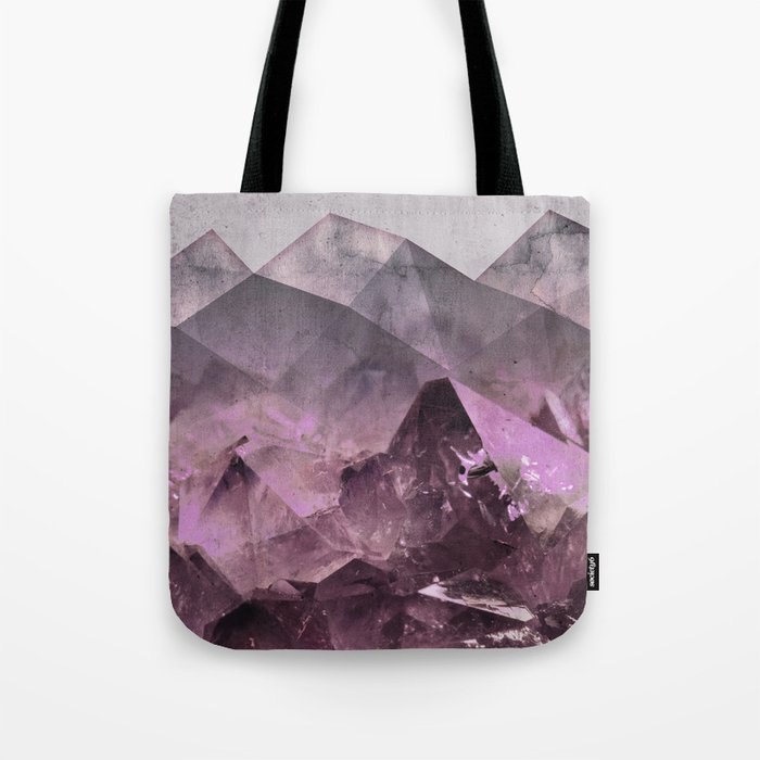 Quartz Mountains Tote Bag