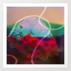 abstract 006. Art Print