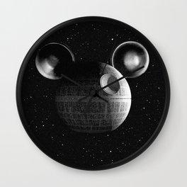 That's no moon... Disney Death Star Wall Clock